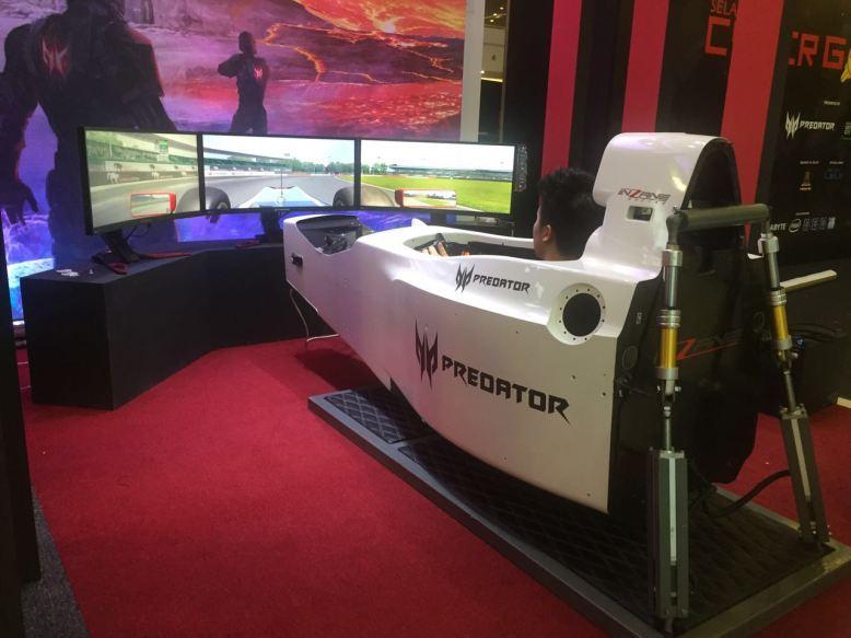 Inzane Professional Racing Simulators – Asia's first